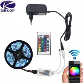GOTRAVO Ruban LED RGB 2835 ou 5050 (5 /10 / 15 métres) WIFI 32256377932
