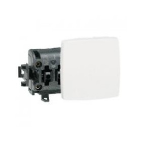 LEGRAND Poussoir 6A Appareillage saillie composable blanc 86106