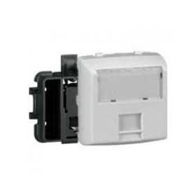 LEGRAND Prise RJ45 catégorie6 UTP 8 contacts Appareillage saillie composable - blanc 86144