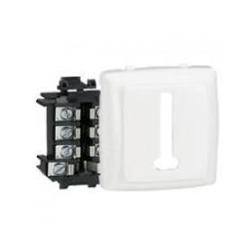 LEGRAND Prise téléphone 8 contacts Appareillage saillie composable - blanc 86138