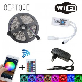 GOTRAVO Ruban LED 2835 RGB Flexible compatible Wifi Alexa Google Home étanche 32809409625