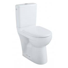 ALLIA Pack WC PRIMA SH, pack WC surélevé à sortie horizontale avec abattant recouvrant 08311300000201