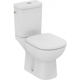 IDEAL STANDARD Pack WC KHEOPS +, Prêt à poser avec abattant, Sortie verticale, blanc Réf T33061 T330601