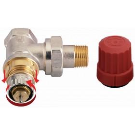 DANFOSS Robinet thermostatisable réglable RA-N équerre diamètre 3 / 8'' 12 x 17 réf. 013 013G0011