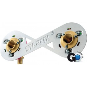 COMAP Raccords à sertir STARFIX Entraxe 150mm D12 réf 0252 0252