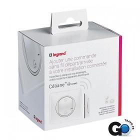 LEGRAND Commande génerale sans fil Départ/Arrivée pour installation connectée Céliane 064872