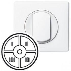 LEGRAND Enjoliveur 4 fonctions céliane blanc 68090 LEGRAND 068090 068090