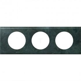 LEGRAND Plaque cuivre oxydé 3 postes legrand céliane 069273 LEGRAND 069273