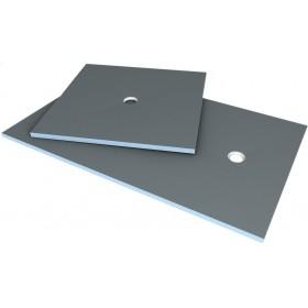 WEDI Receveur carré Fundo Primo - écoulement excentré - polystyrène extrudé - 1,2x1,2 073736171