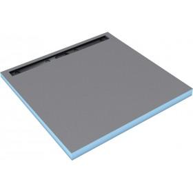 WEDI Receveur carré Fundo Riolito neo - écoulement linéaire - 90x90 cm - ép. 50 mm 075100003