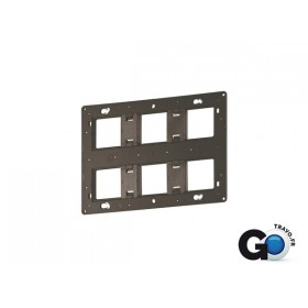 LEGRAND SUPPORT BATIBOX 2X6/8 MODULES 080266