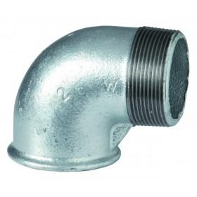 VIRFOLLET-ATUSA  Coude 90° N° 92 Fonte malléable noir MF diamètre : 20x27 Réf. 09221004 09221004
