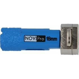 NOVIPRO Scie cloche avec adaptateur intégré 18mm Réf. 09631018 09631018