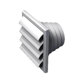 ALDES Grille de ventilation volet anti-retour VPA 140x140 Réf 11001500 ALDES 11001500