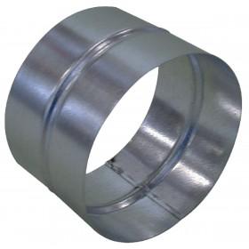 ALDES Raccord femelle-femelle rigide en acier galvanisé diamètre 355 11093069 ALDES 11093069