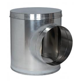 ALDES Caisson piquage de comble acier galvanisé diamètre 125/200 11093609 ALDES 11093609