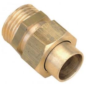 ALTECH Raccord union 3 pièces droit mâle33/42-35 8341Gcu (sachet de 1 pièce) ALTECH 1260ALT1