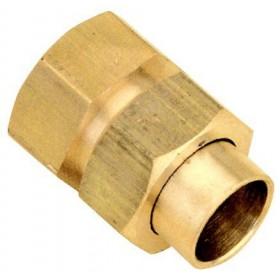 ALTECH Raccord union 3 pièces droit femelle 15/21-16 8340Gcu (sachet de 10 pièces) ALTE 1294ALT10