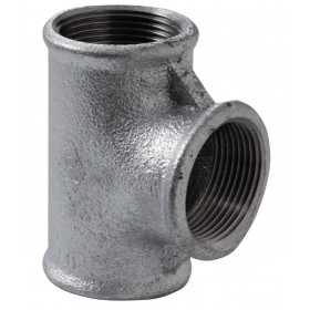 VIRFOLLET-ATUSA  Té N° 130 Fonte malléable noir diamètre : 12x17 Réf. 13021002 13021002