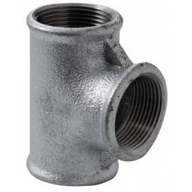 VIRFOLLET-ATUSA  Té N° 130 Fonte malléable noir diamètre : 26x34 Réf. 13021005 13021005
