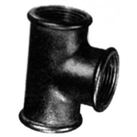 VIRFOLLET-ATUSA  Té fonte malléable 130 galvanisée 26X34 Réf. 13025005 13025005