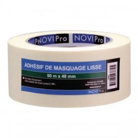 NOVIPRO Adhésif de masquage lisse - 50mx48mm 171739
