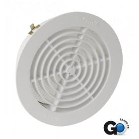 NICOLL Grille d'aération intérieure simple 1GATM140 pour tube 1GATM140