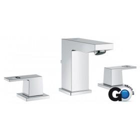 GROHE Mélangeur 3 trous pour lavabo EUROCUBE chromé Réf 20351000 20351000