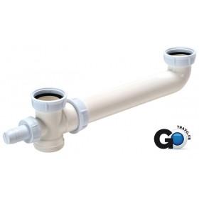 Tubulure évier 2 cuves standard Plastique 0204016 204016