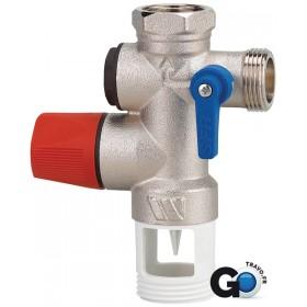 WATTS INDUSTRIE Groupe de sécurité chauffe-eau 20x27 inox Réf 2252570 2252570