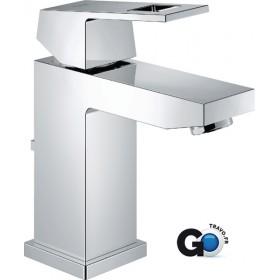 GROHE Mitigeur monocommande 15x21 pour lavabo EUROCUBE EcoJoy chromé Réf 2312700E 2312700E