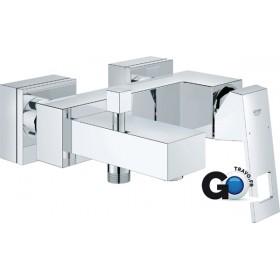 GROHE Mitigeur monocommande 15x21 pour bain-douche EUROCUBE chromé Réf 23140000 23140000