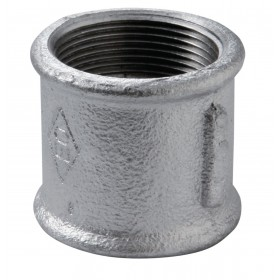 VIRFOLLET-ATUSA  Manchon N° 270 Fonte malléable noir diamètre : 26x34 Réf. 27021005 27021005