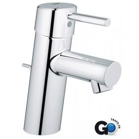 GROHE Mitigeur de lavabo CONCETTO II monocommande 15x21, mousseur SpeedClean, tirette 3220410E