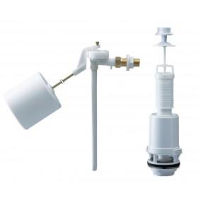 SIAMP Mécanisme complet à tirette bouton chromé avec robinet CLASSIC 42 / 15EL réf. 38 38105007