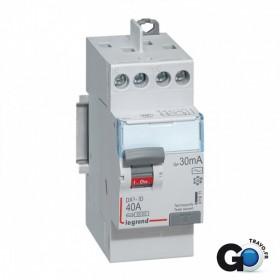 LEGRAND Interrupteur différentiel 40A Type AC DX³-ID arrivée haute et départ haut à vis 411611