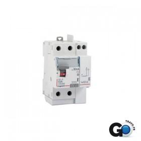 LEGRAND Interrupteur différentiel vis/vis 63A 230VAC 3 modules LEGRAND 411612