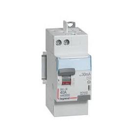 LEGRAND Interrupteur différentiel DX³-ID - vis/auto - 2P - 230V alternatif - 40A - typeA 411638