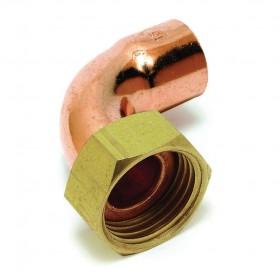ALTECH Raccord 2 pièces coudé douille Cu 20x27-18 8002AGcu (sachet de 10 pièces) ALTECH 4238ALT10