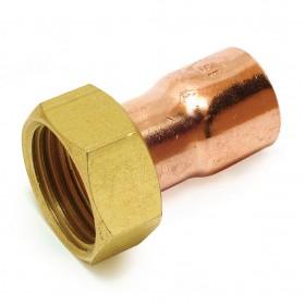 ALTECH Raccord 2 pièces droit douille Cu 15/21-16 8359GLCu (sachet de 2 pièces) ALTECH 4248ALT2