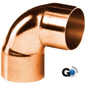 ALTECH Coude cuivre 5090 petit rayon 90° femelle femelle D 22 ALTECH sachet de 10 5090-22(10)