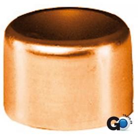 ALTECH Bouchon cuivre 5301 femelle D 12 ALTECH (Sachet de deux éléments) 5301-12(2)