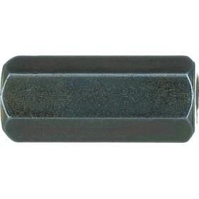 NOVIPRO Raccord jonction hexagonal 8X125 L20 mm - 50 pièces, réf. 533492 533492