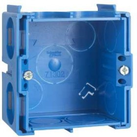 SCHNEIDER Boîte carrée 1 poste, profondeur 40mm Modulo ALB71301