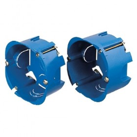 SCHNEIDER Boîte - 1 poste - diamètre 85mm - P40mm Multifix ALB71385