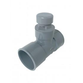 NICOLL Té anti-vide diamètre 32mm ATVF NICOLL ATVF