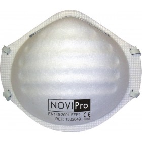 NOVIPRO Masque FFP1 NOVIPro blister de 5 BEG110-001-44F