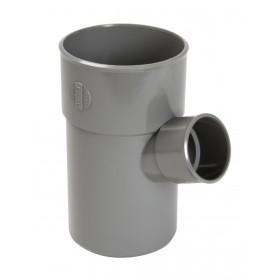 NICOLL Culotte simple MF 67°30 PVC gris - diamètre 100/50 mm NICOLL BT66