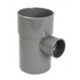 NICOLL Culotte simple MF 87°30 PVC gris - diamètre 100/50 mm NICOLL BT68