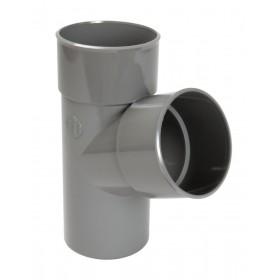 NICOLL Culotte MF simple 67°30 - BX16 - PVC gris - diamètre 125 mm NICOLL BX16